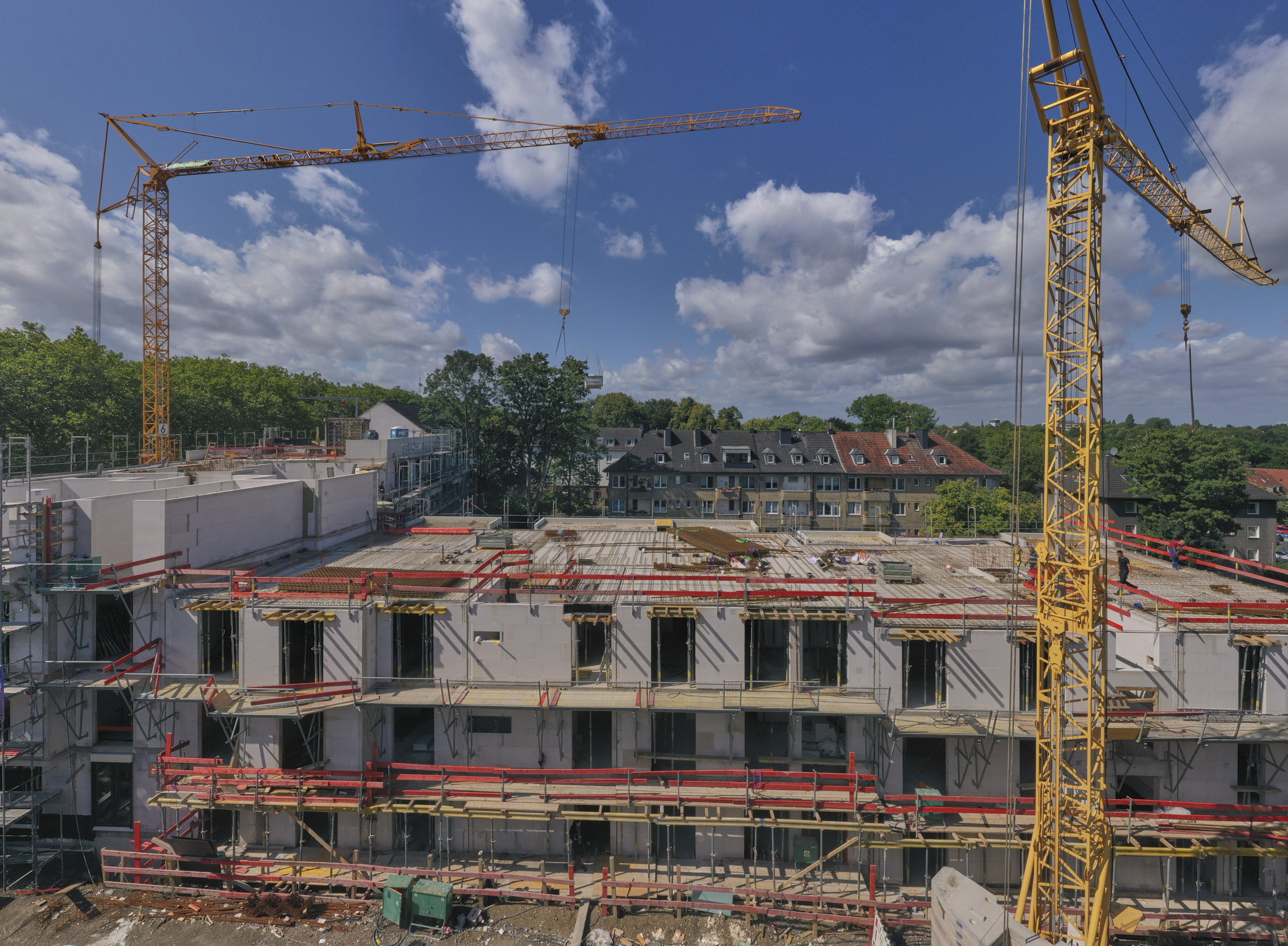 Baustelle am 8. September als 360° Panoramatour