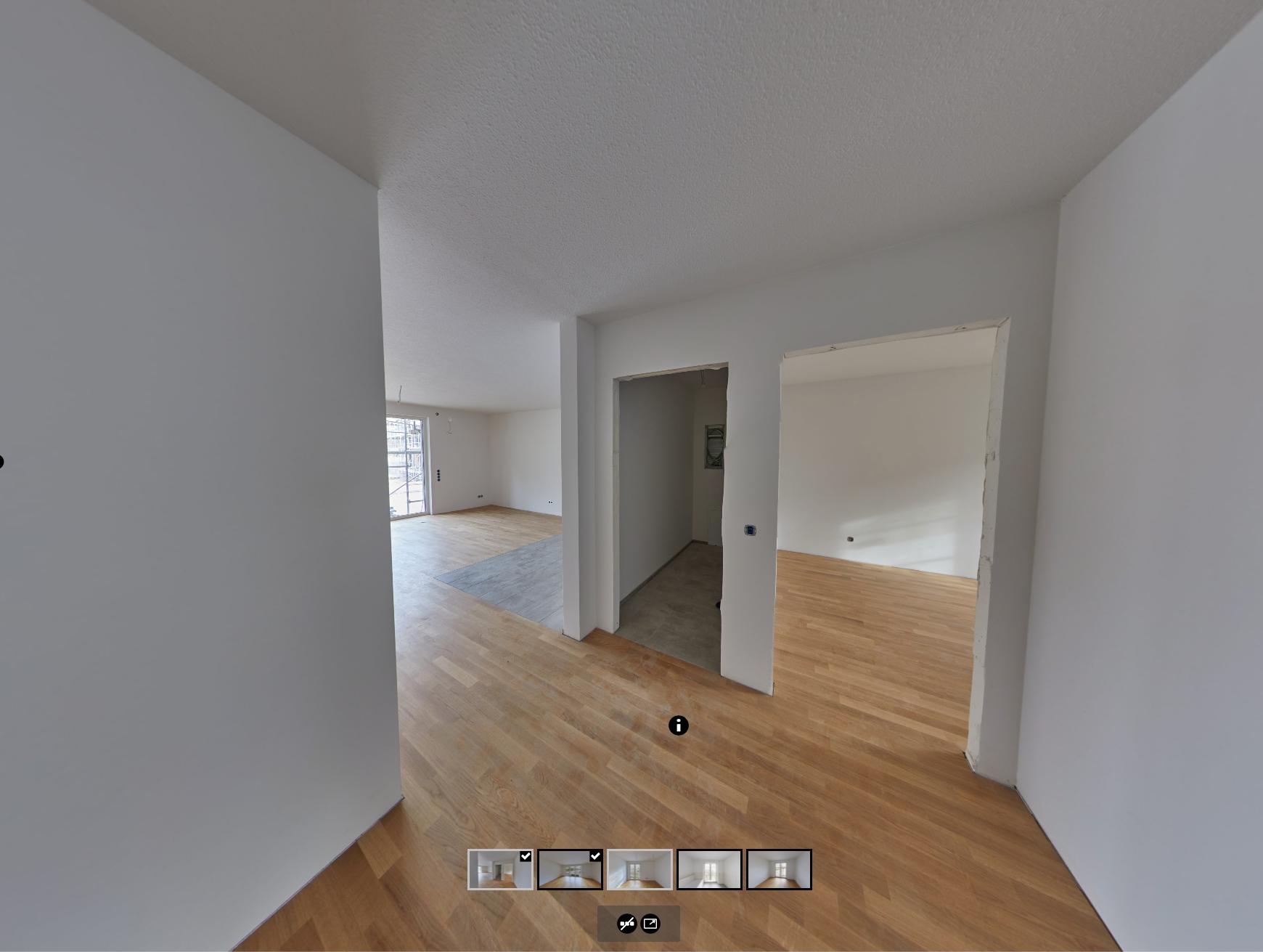 Erste Wohnungen fast fertig